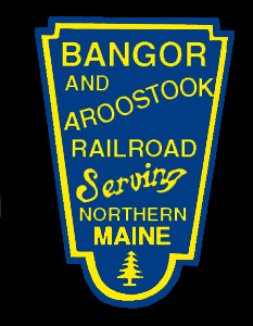 Bangor and Arrostook Railroad Shield